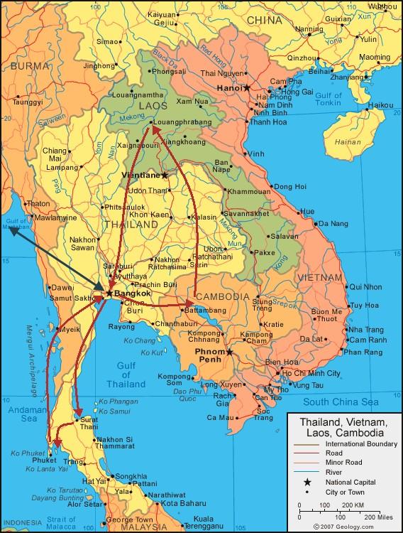 délkelet ázsia térkép Kaland az élet! délkelet ázsia térkép